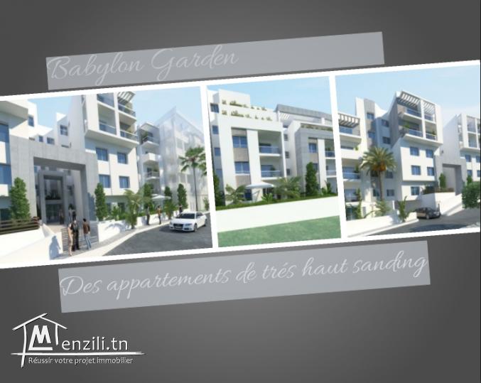 Appartements et Duplex de très haut standing à Ennasr 3