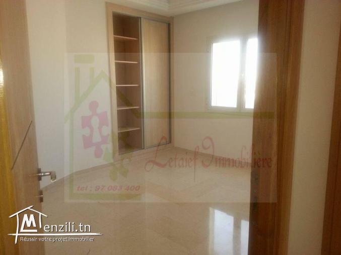 vente un appartement , situé à la zone de Sousse