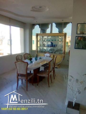 Appartement meublé vue mer à Marsa Safsaf