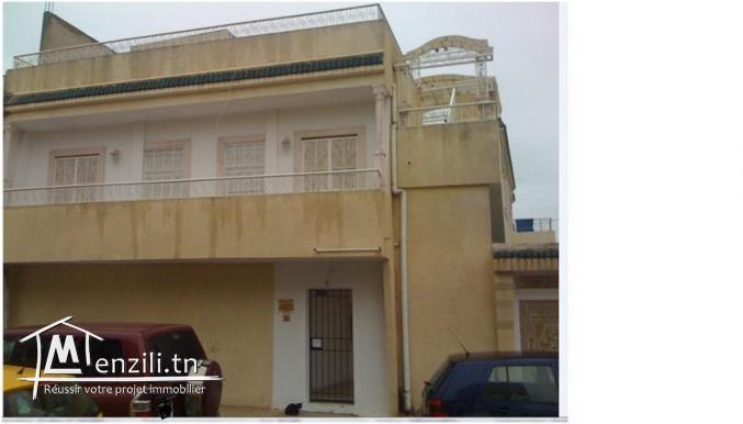 A louer appartement SSM +3ch La Marsa