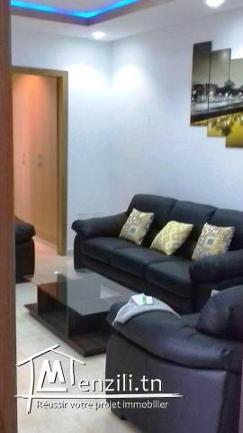 Appartement Meublé S+1 Neuf Hst