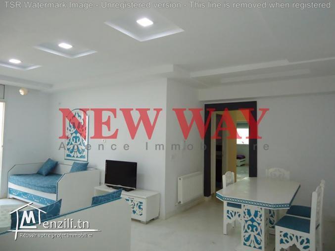 Appartement (S+2) de 144 m² directe promoteur prés de la mer à hergla