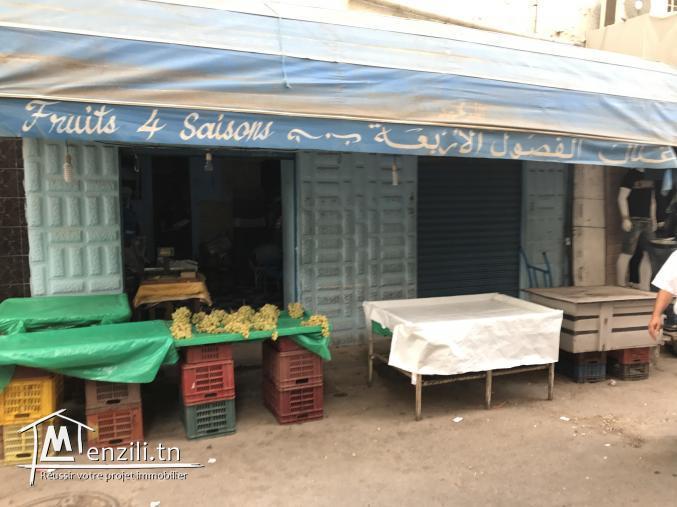 Fond de commerce passage tunis