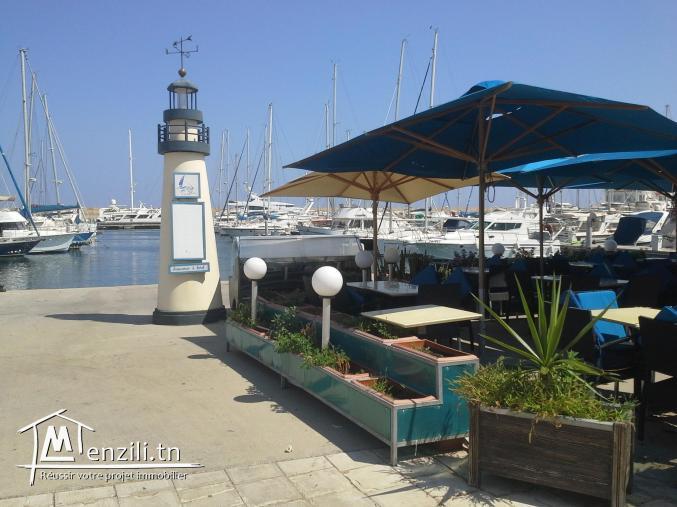 Appart marina hammamet emplacement et vue exceptionnelle
