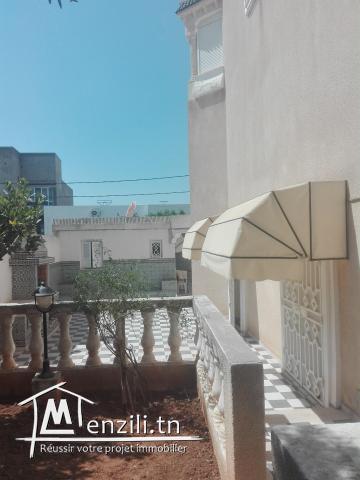 Belle villa fait le coin à Boumhal