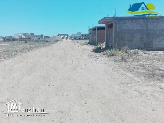 terrain de 174 m² à kélibia