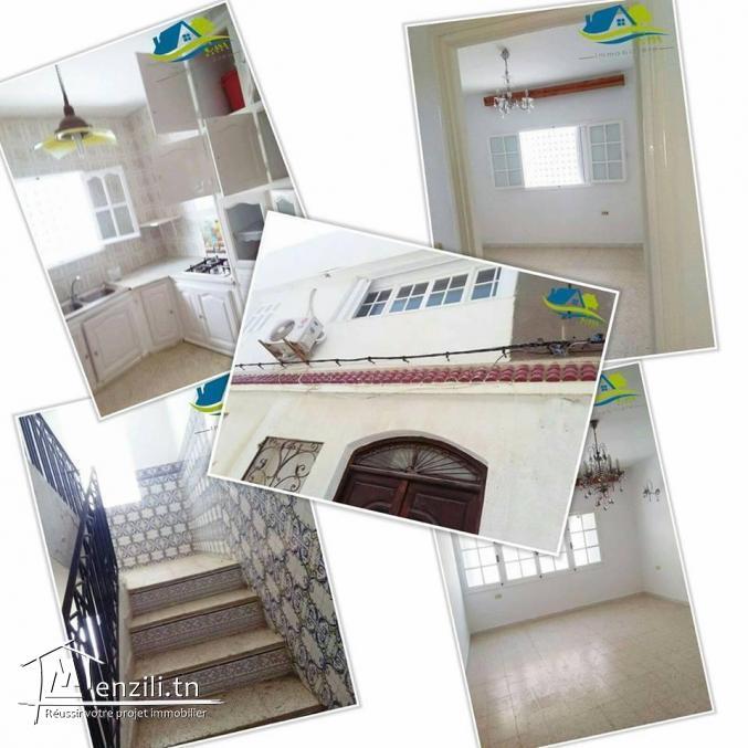 vente d'appartement  au premier étage  située à kélibia