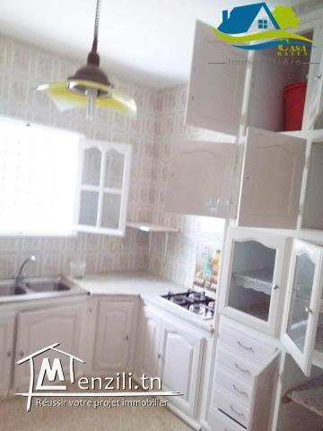 vente d'appartement  au premier étage  située à kélibia .