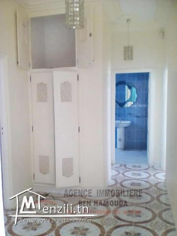 REF: L045/ Location annuelle- Appartement au rdc