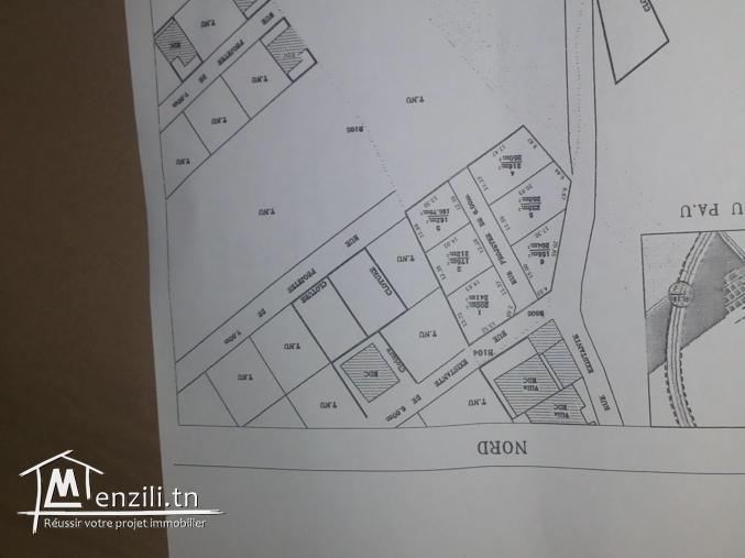 162 m² 175 m² et 200 m² A COTE DE LA NOUVELLE ECOLE PRIMAIRE DE RAOUED