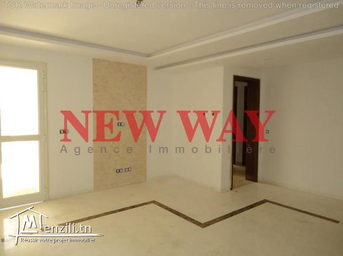 Appartement (S+2) avec un prix imbattable TTC à bouhsina cité olympique