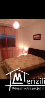 Apparemment meublé salon avec une chambre au lac 2
