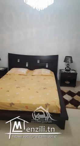 Joli appartement meublé à H Sousse