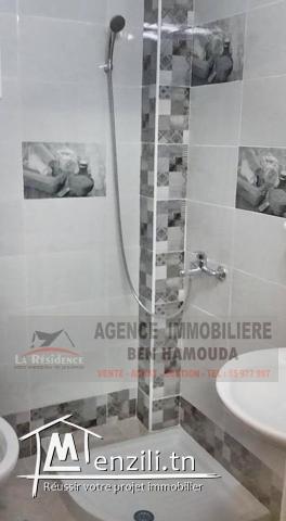REF: LM49/ Appartement meublé au rdc