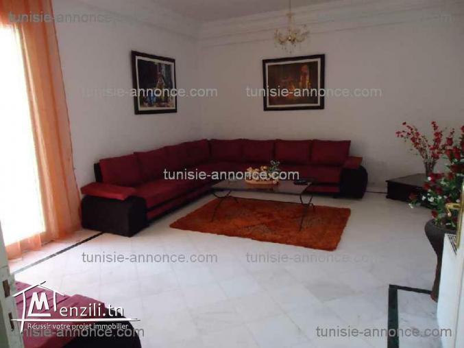 s+2 haut standing luxueux  meublé