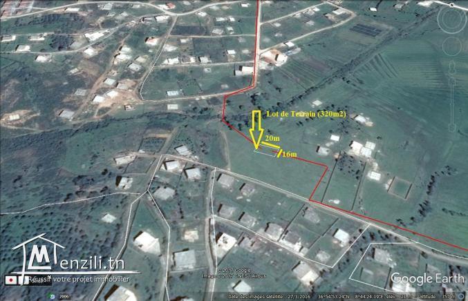 terrain à vendre à Tabarka