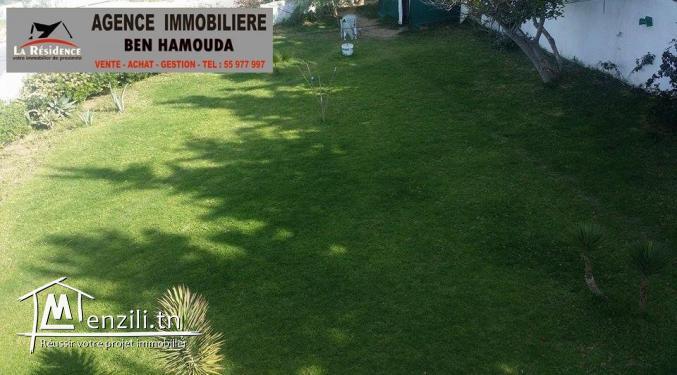REF : M43/ A vendre- Villa de charme vue sur mer