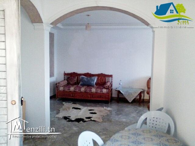 appartement vue mer à kélibia