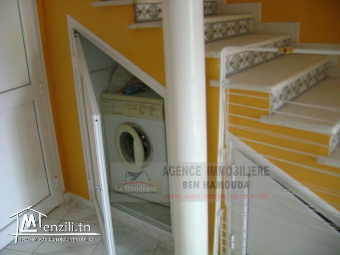 REF: L055/ Location annuelle-Duplex meublé