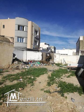 un superbe terrain située a centre ville kelibia