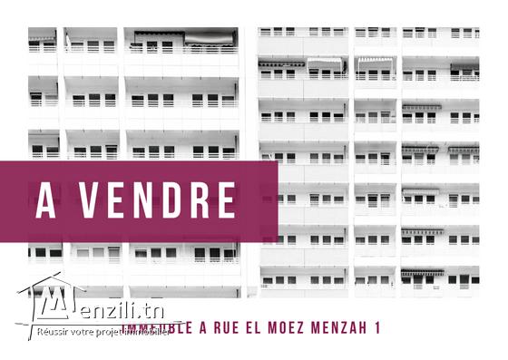 A vendre immeuble Au Menzah 1