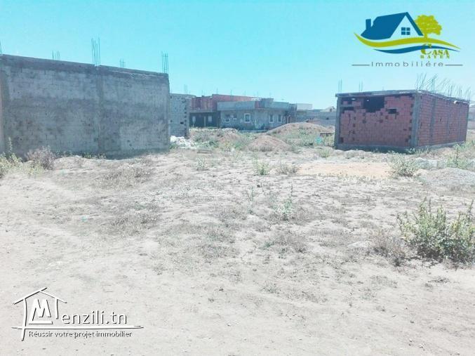 أرض للبيع في قليبية تبعد على بحر كيلومتر