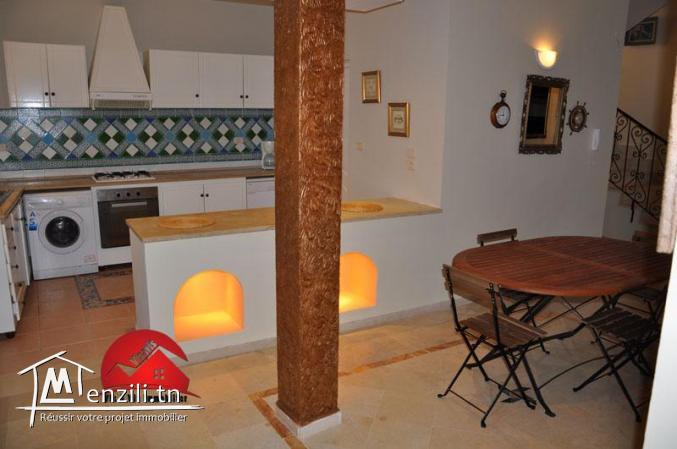 VILLA AVEC PISCINE - 4 CHAMBRES - ZONE TOURISTIQUE MIDOUN DJERBA