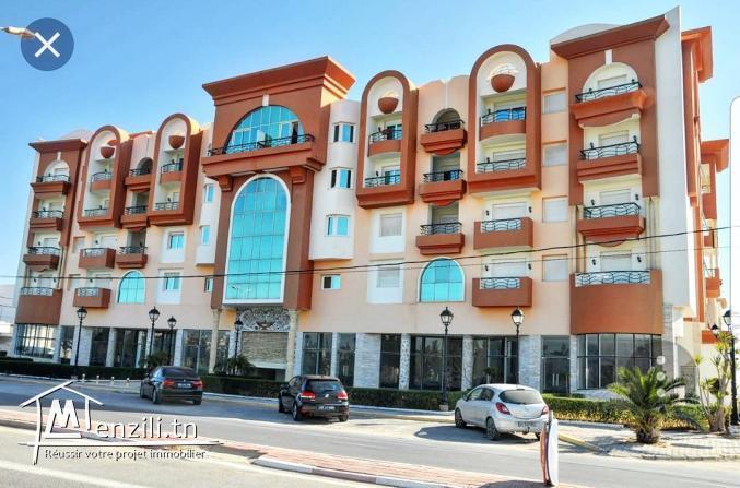 À Vendre Un Bel Appartement équipé  S+1 dans une résidence haut-standing à Tantana-Kantaoui