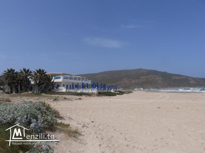 Terrain const a la plage d'el haouaria de 272m2