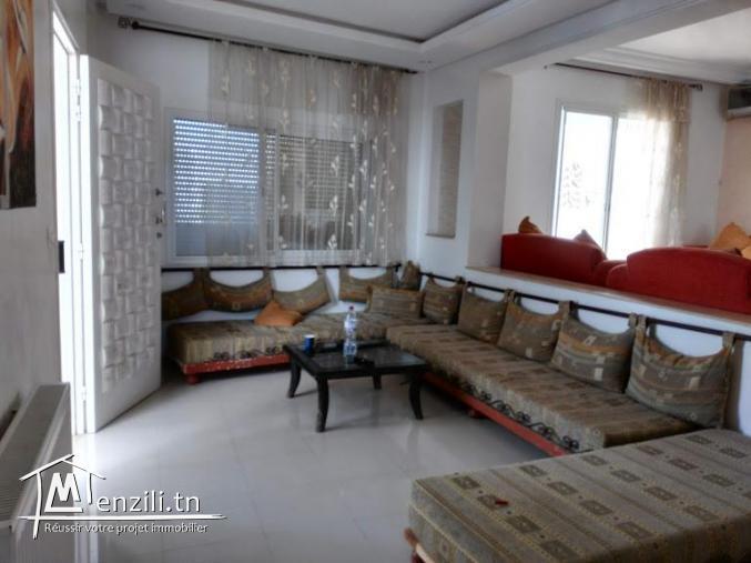 S+2 meublé à Hammamet zone Miramar