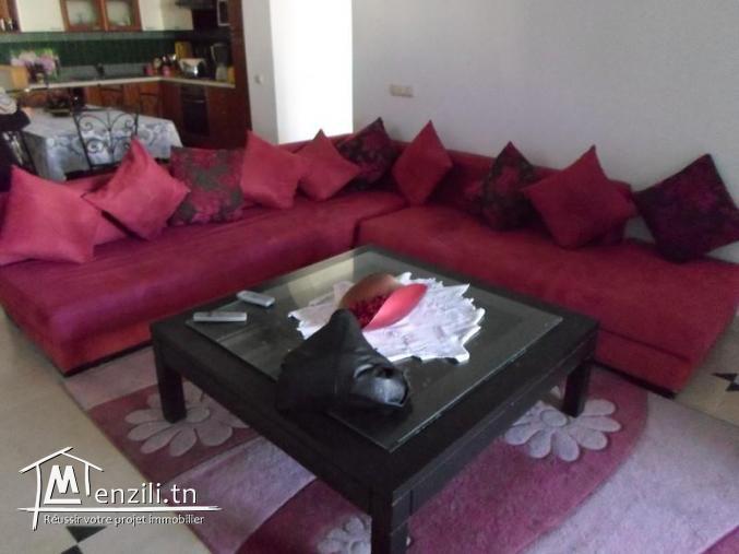 appartement S+2 a yassmin hamamet