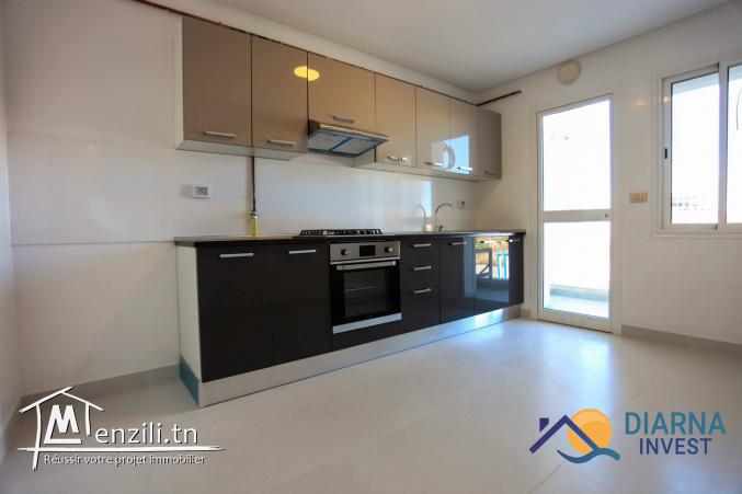 Appartement S+3 avec jardin à Résidence Le ZENITH Sahloul 4 Sousse