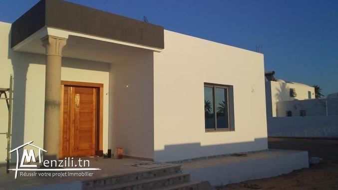une belle villa tout neuve au Midoun route de phare
