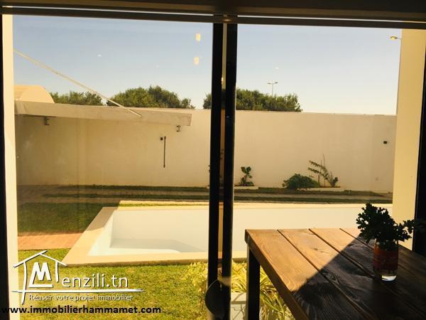 Vente Villa PASCALE à Hammamet -Zone Craxi