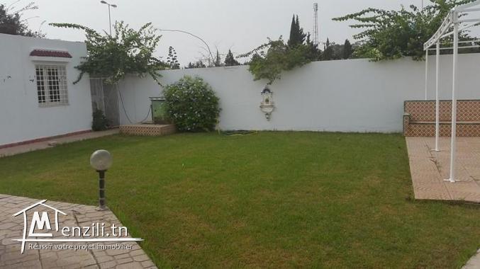 une belle villa à jinen Hammamet