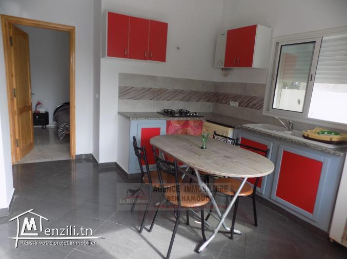 REF: L053/ Location annuelle- Maison meublée à la corniche