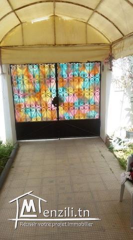immobilére kelibia vous propose a vendre une maison à kelibia d'une surface250m2 couvert 160m...