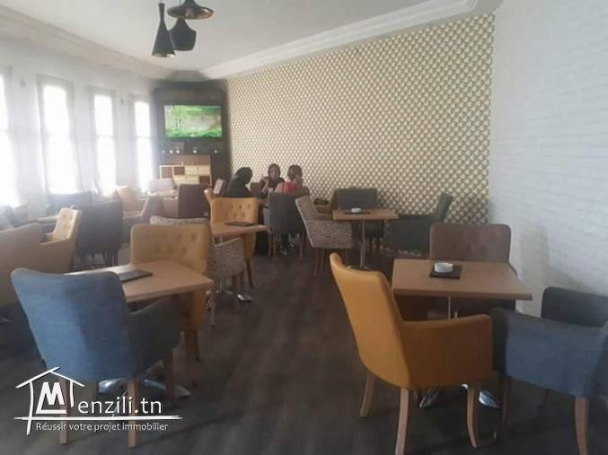 fond de commerce restaurant et salon de thé