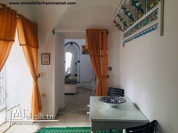 Location Maison Arabe AMINA à Hammamet Centre Ville