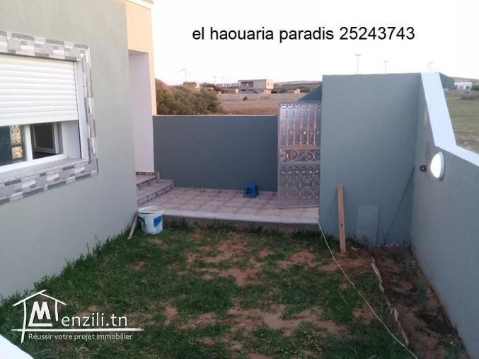 une villa a vendre (prête pour l'habitation a l'instant même) a el haouaria
