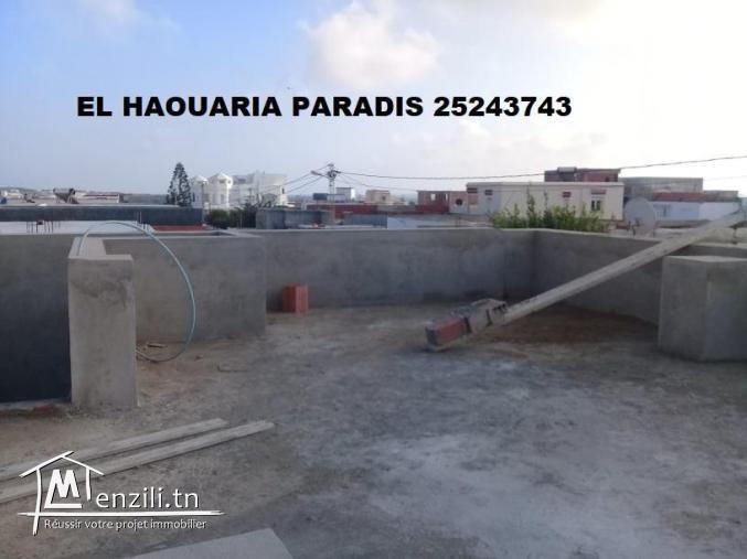 une maison au centre ville el haouaria s+3
