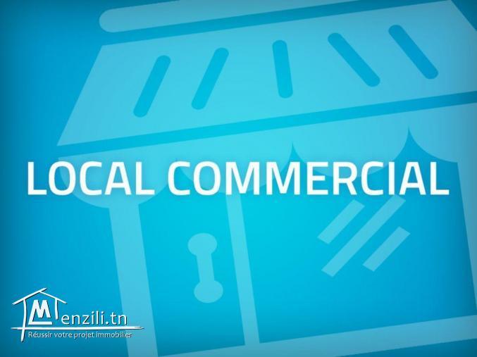 LOCAL COMMERCIAL A MEGRINE CHAKER PR TOUT COMMERCE TEL 94306411
