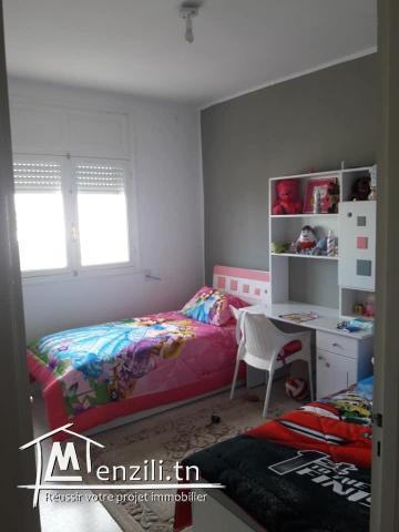 appartement S+2 haut standing situé a ezzahra