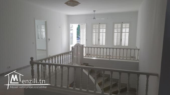 sybVLS3 villa à louer à Gammarth coté café journal