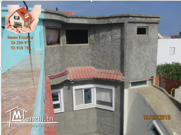 a vendre deux maisons à kélibia au centre ville