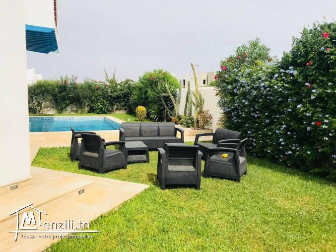 Villa piscine S+5 hammamet