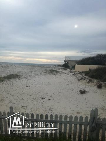 terrain vue sur mer a la plage ain grinz