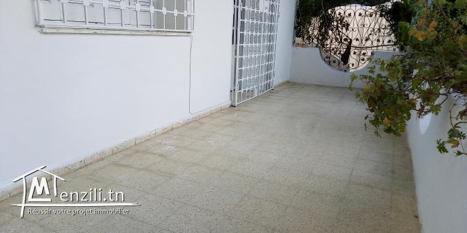 sybRDCLZ6 Rez de chaussée à saisir en location à El Wifak La Marsa les Pins