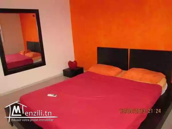 sybALZ7 Appartement meublé à louer à la Marsa