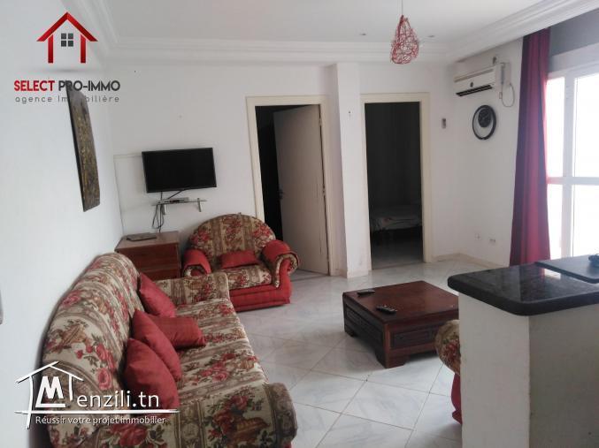A louer Étage du villa S+2 meublé à AFH Mrezgua